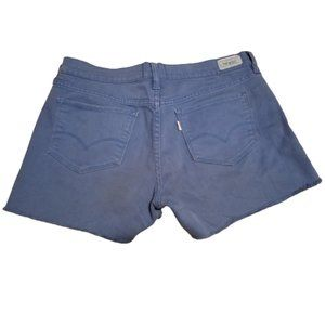 Levi's Jeans Strauss & Co. Blue Short Shorts | 8